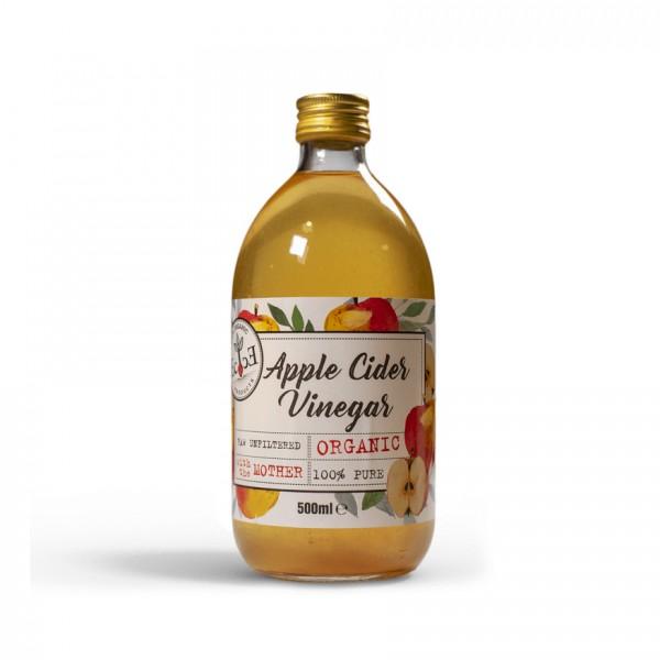 Яблочный органический нефильтрованный уксус из сидра, Ecoce, 500 мл