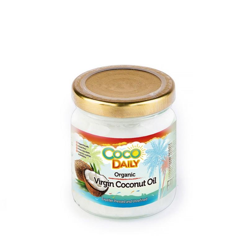 Купить Органическое нерафинированное кокосовое масло, 195 мл