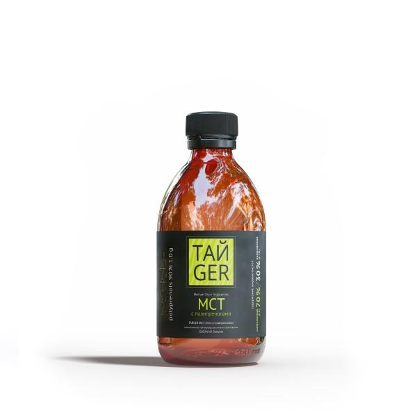 Масло МСТ ТАЙGER c полипренолами 90 %, 250 мл / 1 г