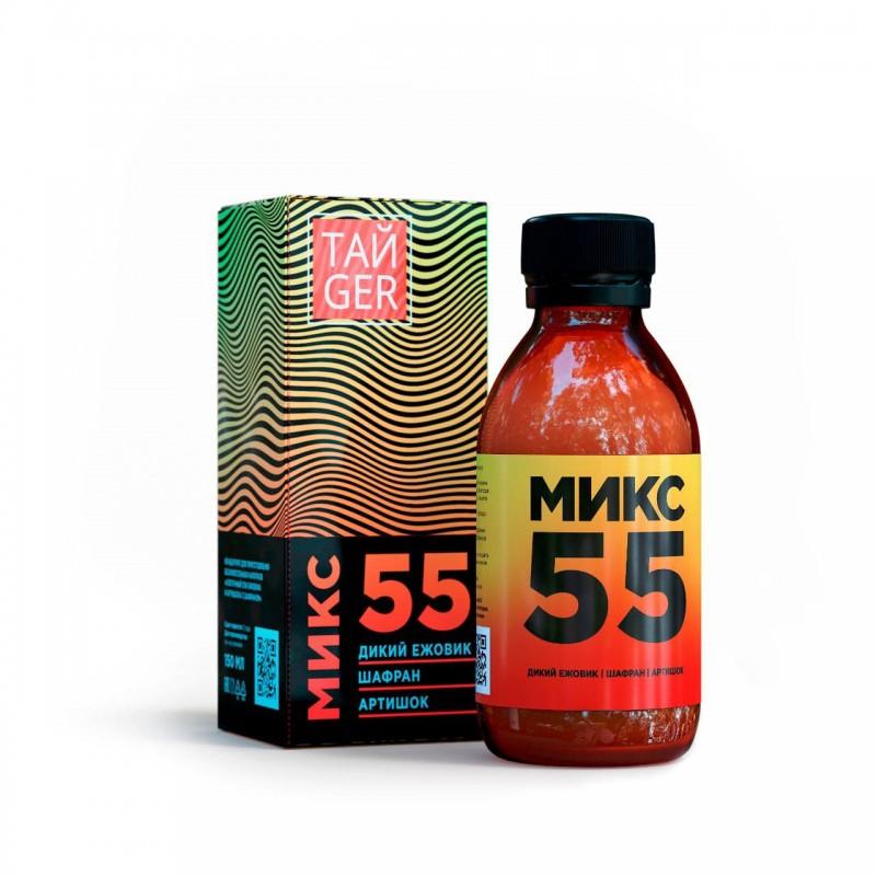 Микс 55 ТАЙGER, 150 мл