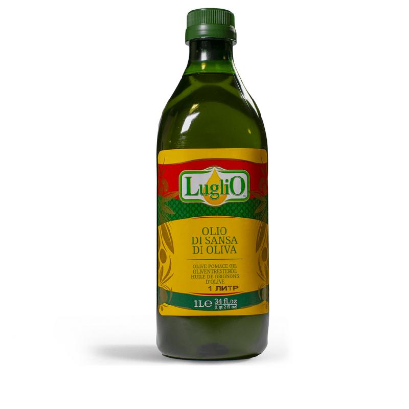 Оливковое масло Olio di sansa di oliva Luglio, 1000 мл