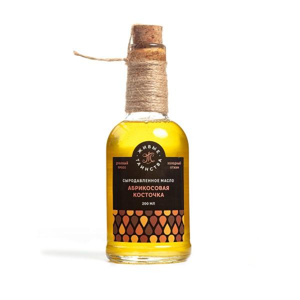 Сыродавленное масло Абрикосовая косточка, 200 мл