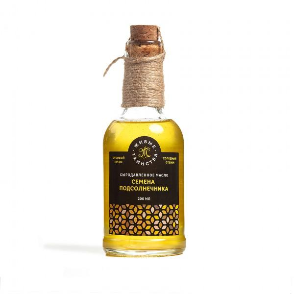 Сыродавленное масло Семена подсолнечника, 200 мл